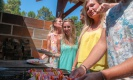 Barbecue collectifs brochettes aux oyats